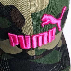 37399a27384 Puma Accessories - Puma Camo cap NWT pink detail hat